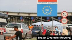 Slovensko-hrvatska granica, 19. rujna 2015.