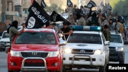 """""""Ислам мамлекети"""" террордук тобунун согушкерлери"""