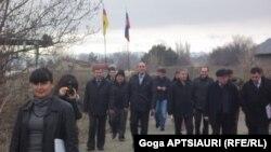 """В распространенном пресс-релизе МНЕС говорится, что встреча в Эргнети прошла """"в конструктивной атмосфере"""""""