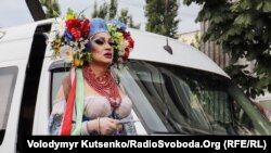 Thousands Take To Kyiv's Streets For Pride Parade