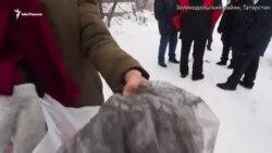 Черный снег в Зеленодольске