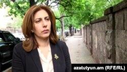 Yезависимый депутат Национального собрания Армении София Овсепян беседует с Радио Азатутюн, 5 мая, 2021 г.