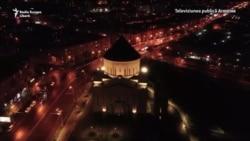 Armenia stinge luminile în comemorarea masacrului din Primul Război Mondial
