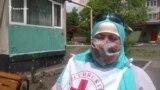 Владикавказ: волонтеры Красного Креста развозят продукты