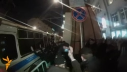 Moscow Police Detain Protesters For Unsanctioned Rally