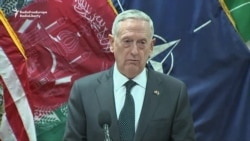 Mattis Foresees 'Another Tough Year' In Afghanistan