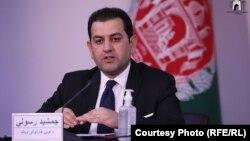 جمشید رسولی، سخنگوی لوی سارنوالی افغانستان