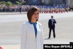 Президент Молдовы Майя Санду, 27 августа 2021