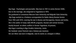 "Aija Kuge's dedicated documentary ""Liberty Live"""