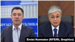 Садыр Жапаров и Касым-Жомарт Токаев.