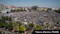 Митинг в Грозном (архивное фото)