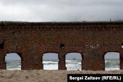 Развалины форта