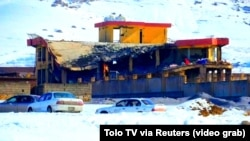 ავღანეთი, მაიდან შაჰრი, 2019 წლის 21 იანვარი: ავღანეთის არმიის ბაზა თალიბანის თავდასხმის შემდეგ