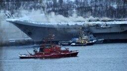 "Пожар на авианосце ""Адмирал Кузнецов"", 12 декабря"