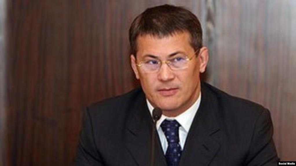 Радий Хабиров — ныне врио главы Башкортостана, в декабре 2003 года — руководитель президентской администрации РБ