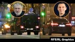 Ввечері 28 жовтня з паркінгу офісного центру Коломойського виїхала Toyota Camry, якою користується перший помічник президента Зеленського