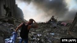 После взрыва в Бейруте. 4 августа 2020 года.