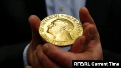 Нобель мукофоти медали.