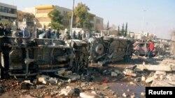 Pas sulmit në Universitetin në Alepo, 15 janar, 2013