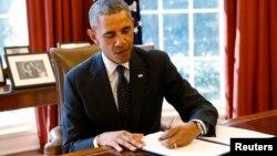 Presidenti i SHBA-së, Barack Obama.