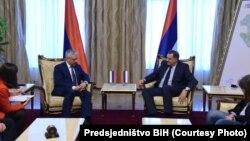 Primakov i Dodik u Banjoj Luci