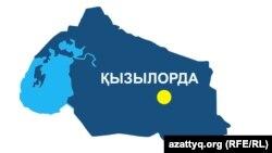 Карты Кызылординской области.