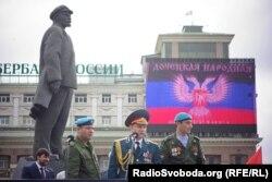 Олександр Захарченко, Донецьку, 9 травня 2015 року