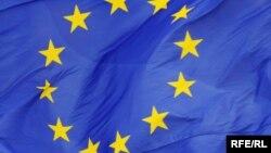 Moldova - EU flag, generic, undated