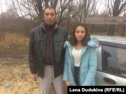 Алика Мамурова с отцом