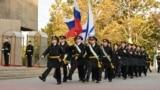 Військовослужбовці Чорноморського флоту Росії в Севастополі, архівне фото