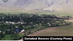 Тажикстандын Жерге-Тал районундагы Жайылган айылы.