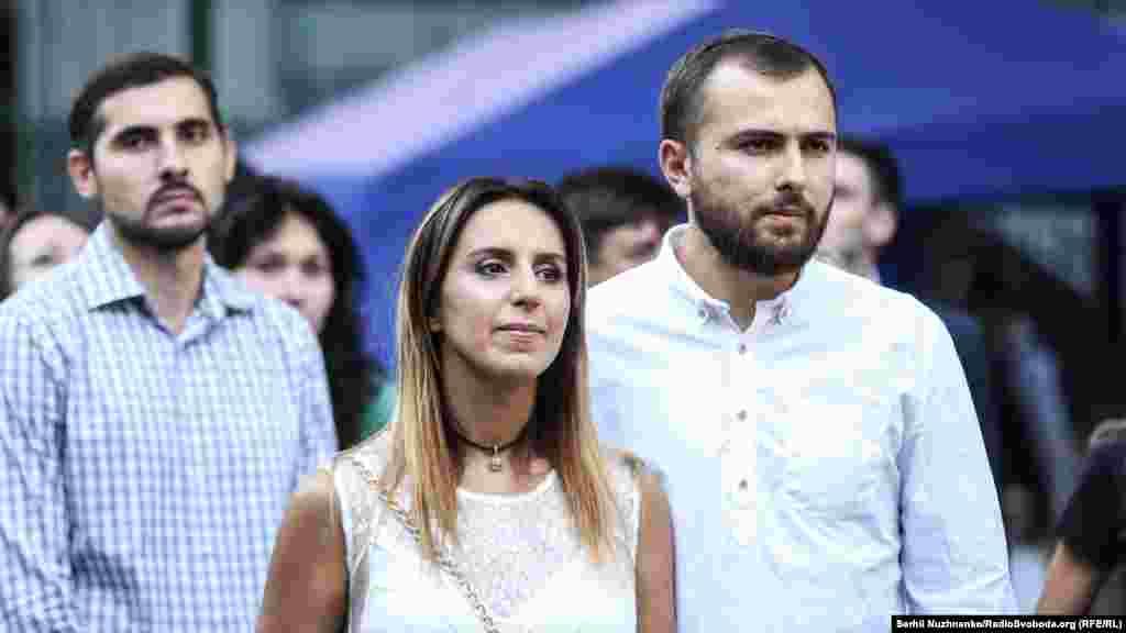 Певица Джамала и ее муж Бекир Сулейманов