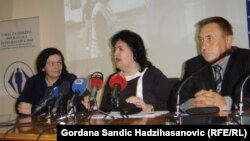 Ranka Koviljac, Mirhunisa Zukić i Milovan Bjelica