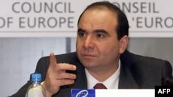 The late Georgian Prime Minister Zurab Zhvania was found dead in 2005.