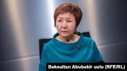 Председатель Верховного суда Гульбара Калиева.