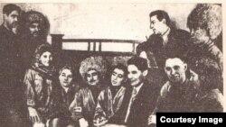 Gara Seyitliyew, Frontçy konsert brigadasynyň düzüminde