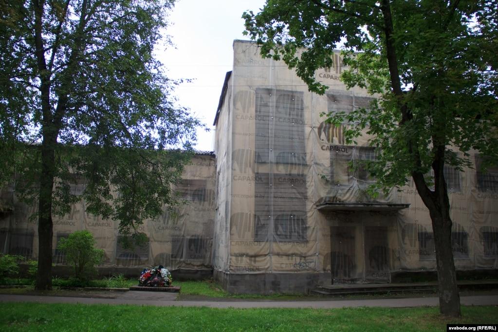 Фасад дома на вуліцы Энгельса