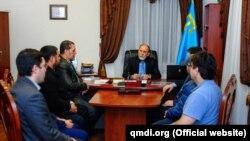 Зустріч Муфтіяту Криму з Шаїбом Сулеймановим