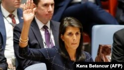 Никки Хейли в Совете Безопасности ООН, 11 сентрябя 2017