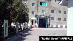 Здание центральной тюрьмы г. Душанбе