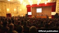 Պաշտպանության բանակի ռազմական խորհրդի նիստ, 15-ը հունվարի, 2016թ.