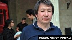 Генеральный продюсер фестиваля The Spirit of Tengri Жан Кастеев. Алматы, 6 июня 2014 года.