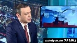 Armenia - Armen Grigorian, secretary of the Security Council, speaks to RFE/RL.