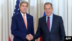 J.Kerry və S.Lavrov
