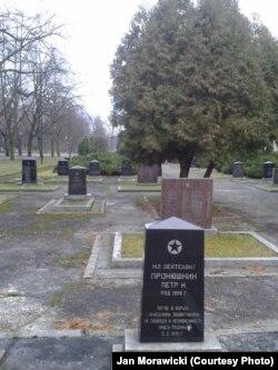 кладбище советских солдат в парке им. князя Юзефа Понятовского, Лодзь