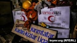 Мәҗлес каршында эшләгән Кырымтатар хатын-кызлары биналарыннан куылды