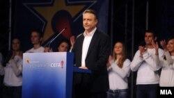 Лидерот на СДСМ, Бранко Црвенковски.