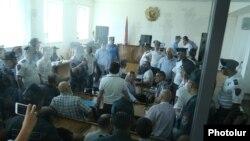 «Սասնա ծռեր»-ի գործով դատական նիստը, 28-ը հունիսի, 2017թ.
