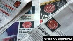 Gazetat në Kosovë, më 3 maj 2012