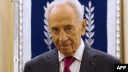 Шимон Перес, Израильдің бұрынғы президенті әрі премьер-министрі.